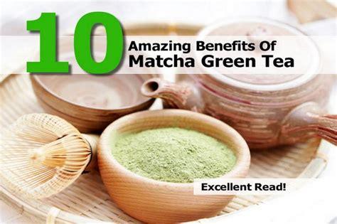 Teh Collaskin 10 amazing benefits of matcha green tea