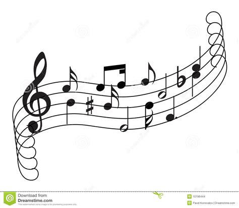 staff themes musical staff theme stock images image 10196444
