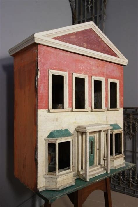 antique dolls house original english victorian antique doll s house 98261 sellingantiques co uk