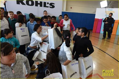 Kohl S Giveaway - vanessa hudgens offers words of wisdom for school kids at kohl s event photo 3736293