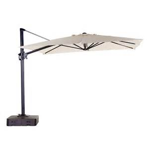 Lowes Outdoor Patio Umbrellas Sears Garden Oasis 10 Square Offset Umbrella Garden Winds