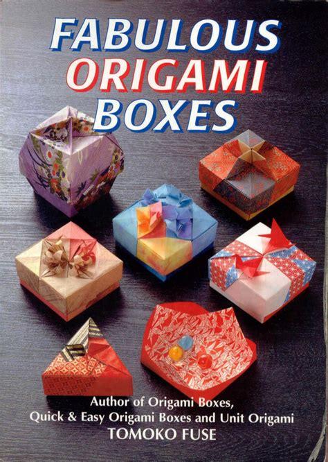 Origami Boxes Tomoko Fuse - origami boxes by tomoko fuse
