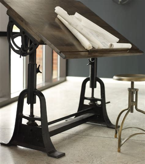 Drafting Table For Architects Architect Drafting Table Traditional Drafting Tables Los Angeles By Zin Home
