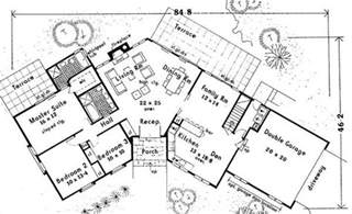 open space house plans open space ranch 6991 3 bedrooms and 2 5 baths the house designers