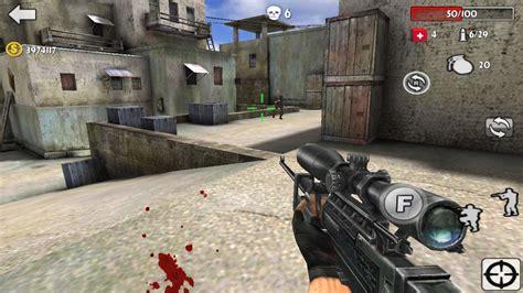 Gaun Gamis gun strike shooting war 3d 1mobile