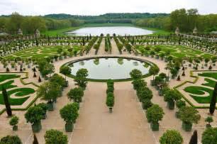 orangerie petit parc de versailles bassin et parterres