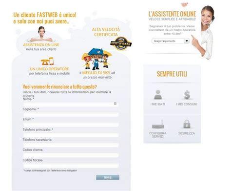 recesso fastweb mobile modulo disdetta fastweb salvatore aranzulla