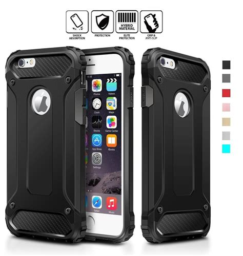 iphone 6 6s 7 8 plus xr x xs max heavy duty hybrid shockproof armor cover ebay