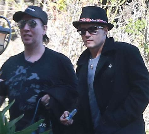 johnny depp marilyn manson tattoo marilyn manson gossip latest news photos and video