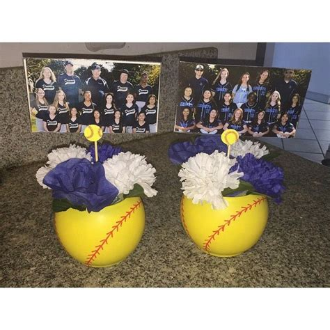 1000 ideas about softball decorations on