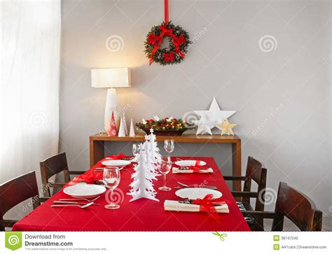 dinner table setup dinner table setup royalty free stock photo
