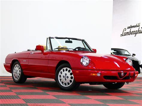 Alfa Romeo Spider by 1991 Alfa Romeo Spider Veloce