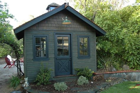 painting shed english cottage garden sheds garden shed