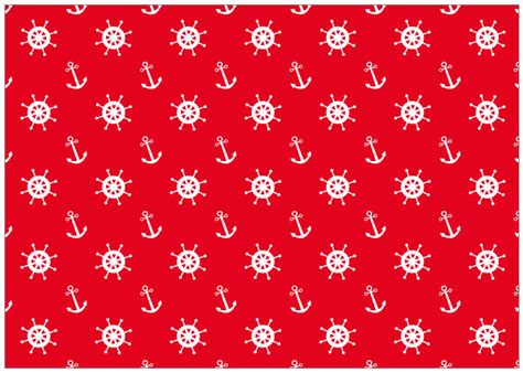 nautical pattern background red nautical pattern