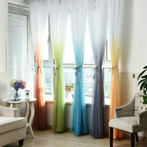 american living curtains aliexpress com buy tulle curtains 3d printed kitchen