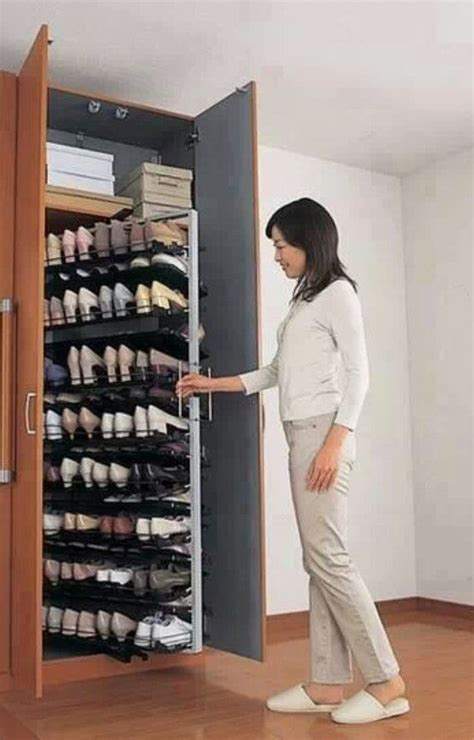 25 clever and creative shoe storage ideas creative shoe rack designs pull out shoe storage