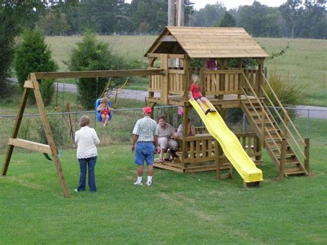 how to build a kids swing pdf woodwork playhouse swing set plans download diy plans