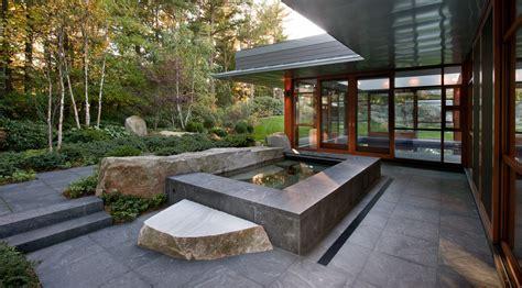 Apartment Courtyard by Zen Associates