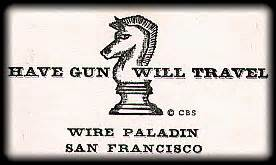 gun will travel business card a significant cultural meme the ballad of paledin
