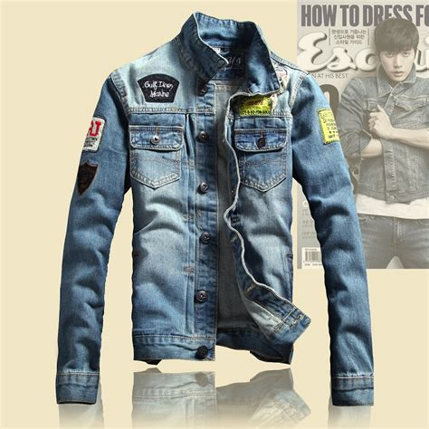 design jean jacket 2016 spring mens jackets brand new slim fit vintage denim