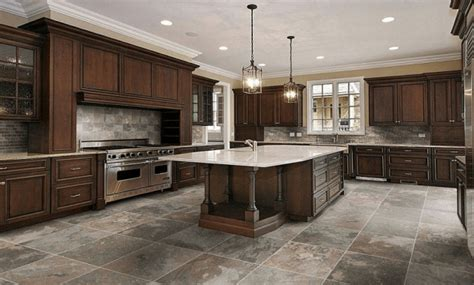 most popular kitchen design choices of kitchen floors with white vs dark cabinets