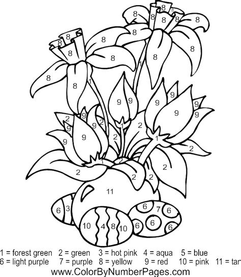 Free Printable Paint By Numbers For Adults Az Coloring Pages Painting Pages