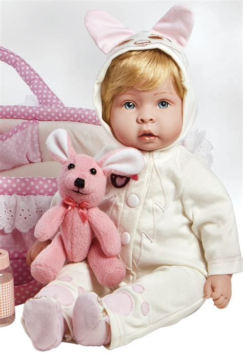 doll gallery real born baby doll molly fluffy gentletouch vinyl