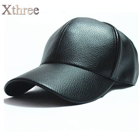 hats and caps great selection and prices at aztex hats xthree winter pu leather baseball cap biker trucker