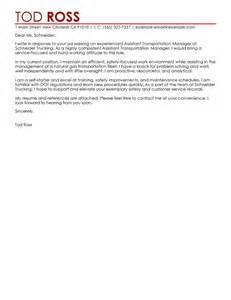 Assistant Manager Cover Letter by Assistant Manager Cover Letter Sle My Cover Letter