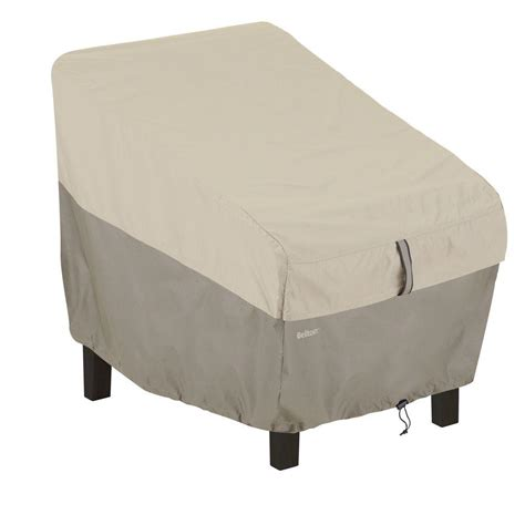 Patio Chair Cover Classic Accessories Veranda High Back Patio Chair Cover 78932 The Home Depot