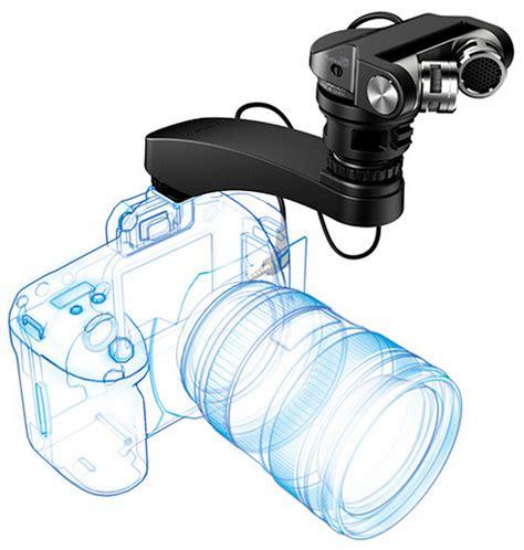 tascam tm2x tascam tm 2x on board condenser microphone for dslrs