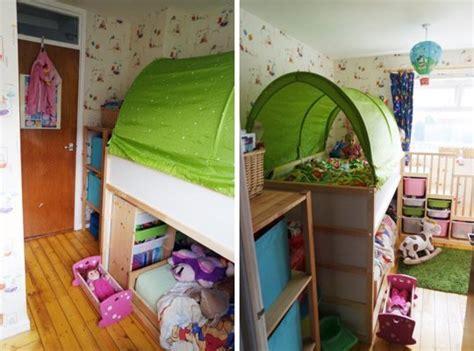 Cool Kids Bedroom Ideas transformer le lit ikea kura 15 id 233 es ikea hacks