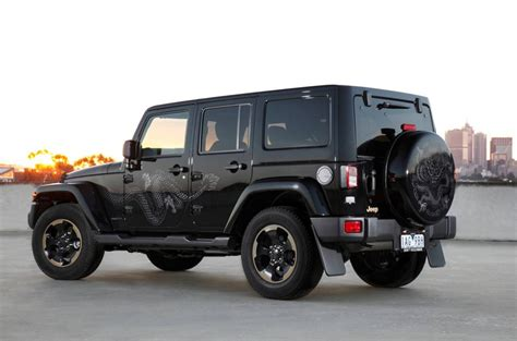 jeep wrangler back 2014 jeep wrangler dragon edition on sale from 51 000