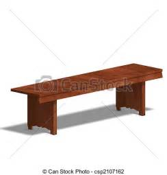 Small Wooden Bench Clip Art Of Park Bench Wooden Park Bench 3d Render And