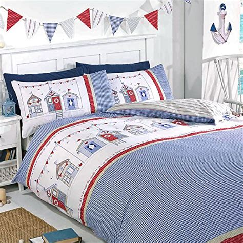 Buy Duvet Cover Set Buy Just Contempo Seaside Hut Duvet Cover Set