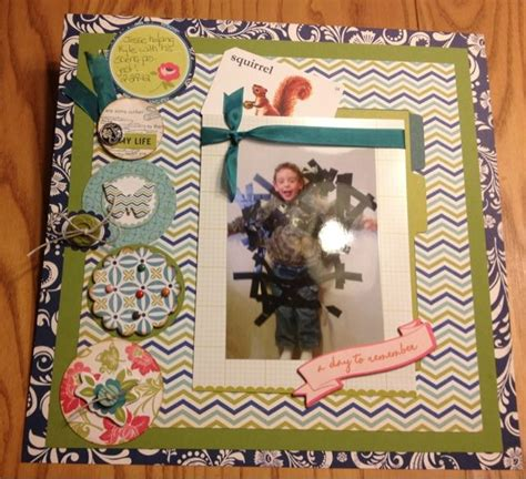 Scrapframe Scrapbook Layout A Day To Remeber 17 best images about scrapbooking paper crafts on