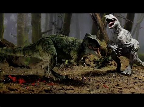 t rex review indominus vs t rex hasbro review and unboxing doovi