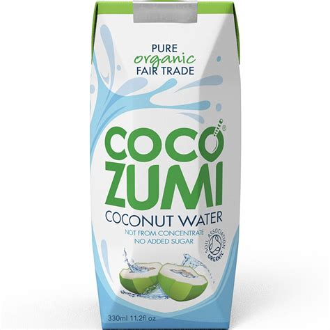 Coco Zumi | coco zumi organic ft coconut water 330ml coconut water