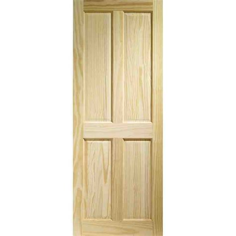 4 Panel Interior Door by Clear Pine 4p Fd30 Chislehurst Doors