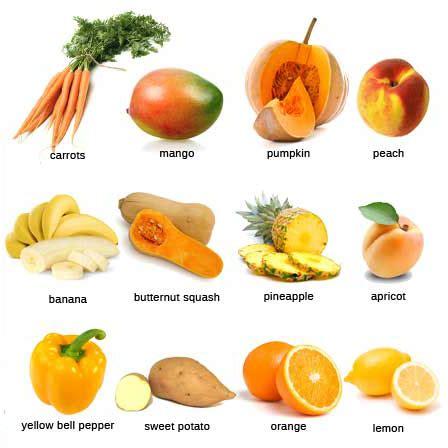 orange colored fruit eat the rainbow orange and yellow whole family nourished