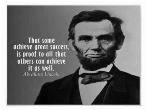 Abraham Lincoln Quotes On Success