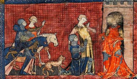 le chevalier au lion 2745331159 yvain le chevalier au lion on emaze
