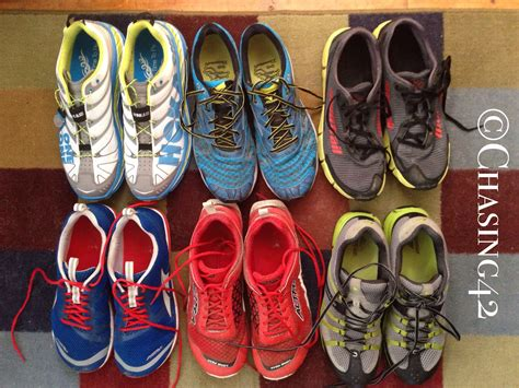 Two Pairs Of Shoes by The Evolution Of Running Shoes I M Coming Clean Chasing 42
