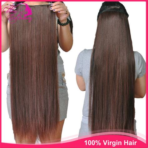clip in hair extensions quality human hair wefts buy 2017 100 human full head clip in hair extensions straight