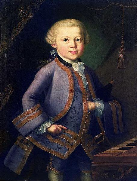 best biography about mozart image gallery mozart as a baby