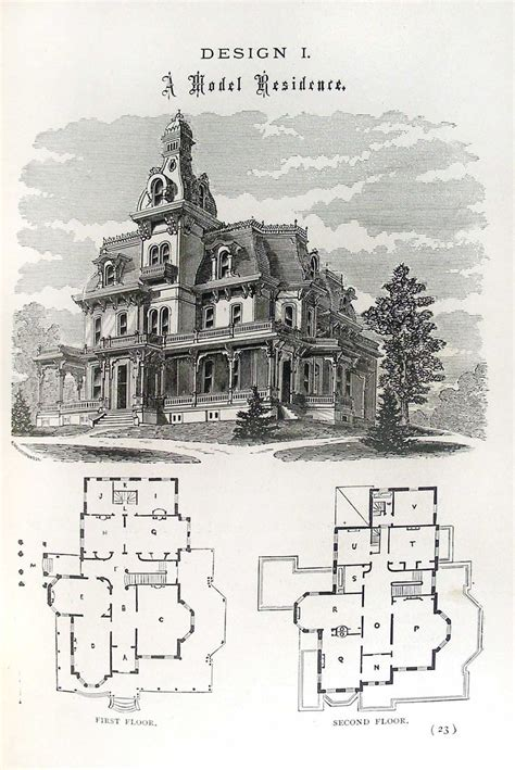 Victorian House Plan Gallery For Gt Victorian Gothic House Plans