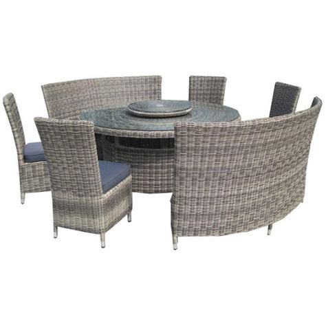 modena 8 table 8 10 seater fan bench dining set