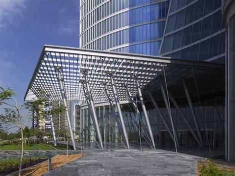 Building Canopy Adia Headquarters Abu Dhabi Tower Hq E Architect