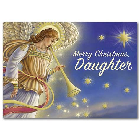merry christmas daughter daughter christmas card