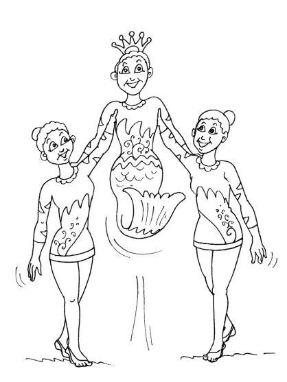 Dessins Gratuits à Colorier - Coloriage Gymnastique à imprimer
